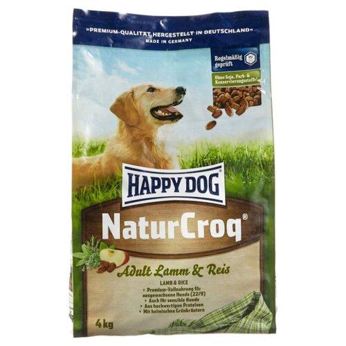 Корм для собак Happy Dog (4 кг) NaturCroq Lamm&Reis для собак с чувствительным пищеварением на основе ягненка и рисаКорма для собак<br>