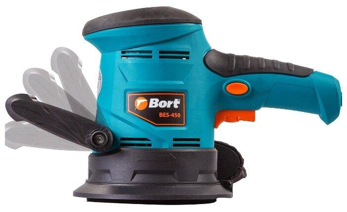 Эксцентриковая шлифмашина Bort BES-450