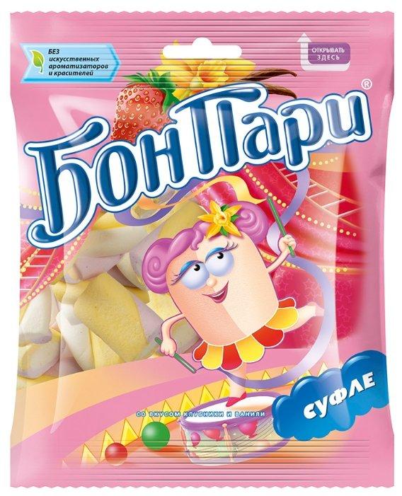 Маршмеллоу Бон Пари со вкусом клубники и ванили 90 г