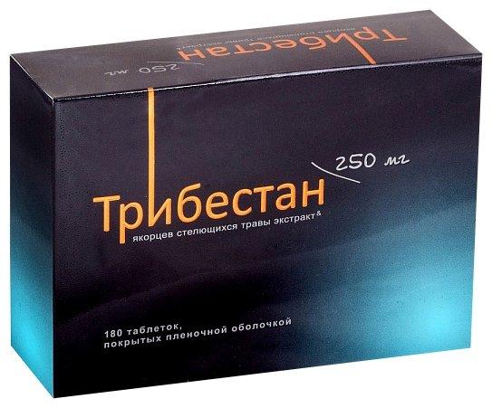 Трибестан таб. п/о плен. 250мг №180 — купить по выгодной цене на Яндекс.Маркете