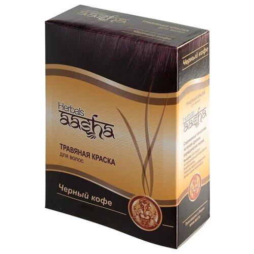 Хна Aasha Herbals с травами, оттенок Черный кофе, 60 гОттеночные и камуфлирующие средства<br>