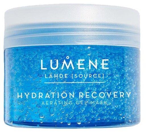 Lumene Lahde Hydration Recovery Oxygenating Gel Mask кислородная увлажняющая и восстанавливающая маска
