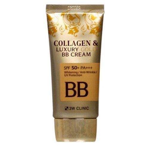 3W Clinic BB крем Collagen & Luxury Gold, SPF 50, 50 мл [vk] si15 3w 47r 10