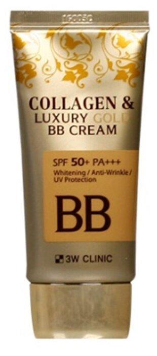 3W Clinic BB крем Collagen & Luxury Gold SPF 50, 50 мл