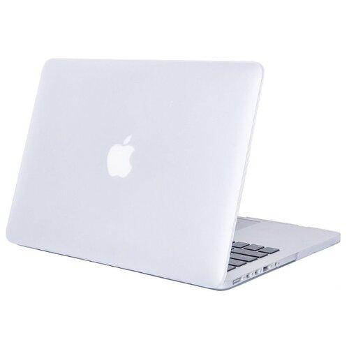Купить Чехол-накладка UVOO пластиковая накладка MacBook hardshell 15 Retina прозрачный