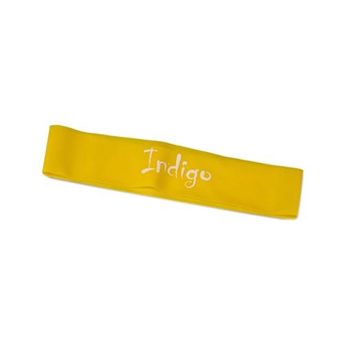 Эспандер лента Indigo Light 6004-1 46 х 5 см желтый
