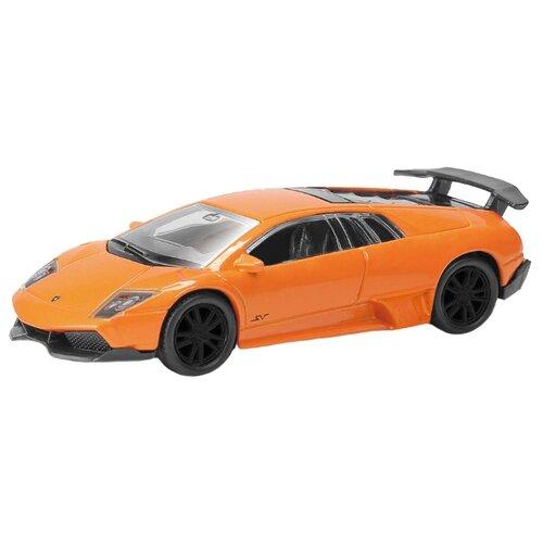 цена на Легковой автомобиль RMZ City Lamborghini Murcielago LP670-4 SV (344997) 1:64 оранжевый