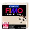 Полимерная глина FIMO Professional doll art 85 г полупрозрачный бежевый (8027-44)