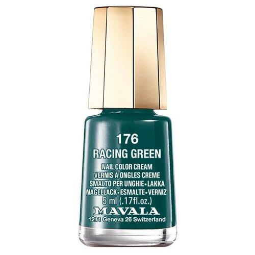 Лак Mavala Nail Color Cream, 5 мл, оттенок 176 Racing green mavala nail color