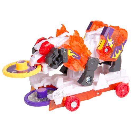 Купить Интерактивная игрушка трансформер РОСМЭН Дикие Скричеры. Линейка 3. Стормхорн (35894), Роботы и трансформеры