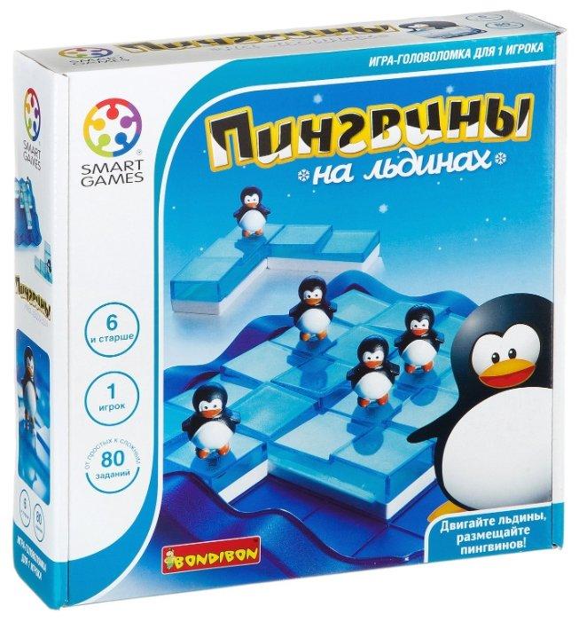 Головоломка BONDIBON Smart Games Пингвины на льдинах (ВВ0851)