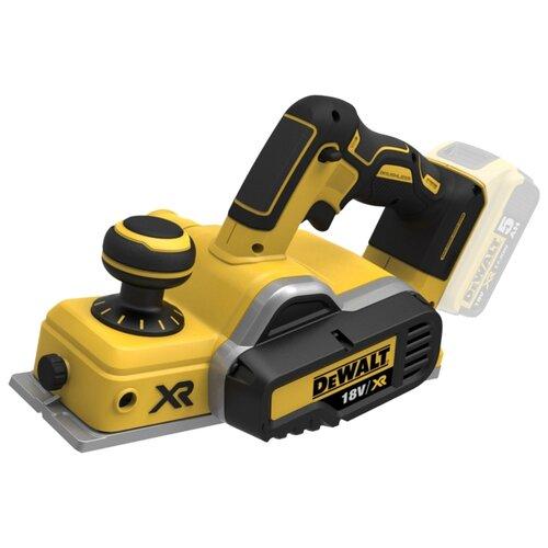 цена на Электрорубанок DeWALT DCP580N желтый/черный