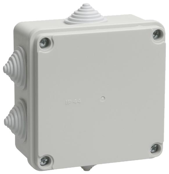 Распределительная коробка IEK KM41233 наружный монтаж 100x100 мм