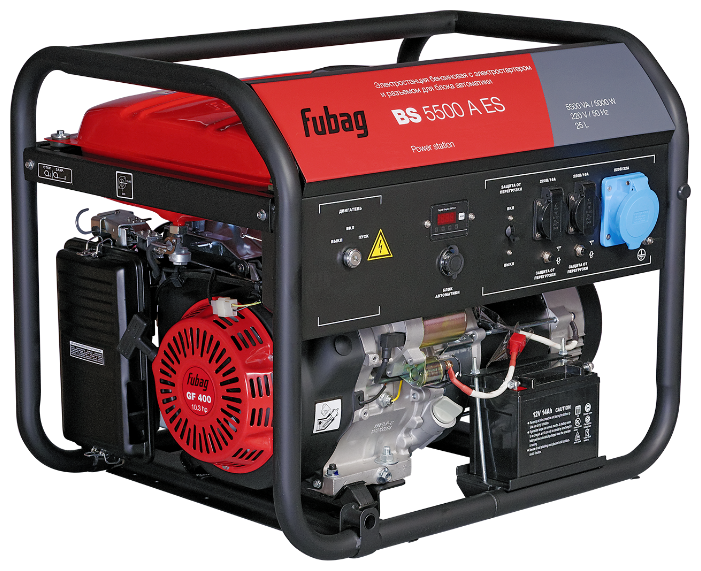Бензиновый генератор Fubag BS 5500 A