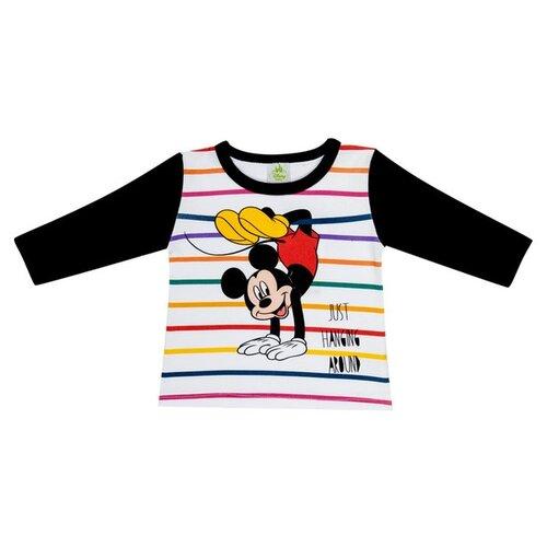 Лонгслив Linas Baby размер 68 (3-6), темно-синий/белыйФутболки и рубашки<br>
