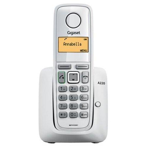 Радиотелефон Gigaset A220 белый