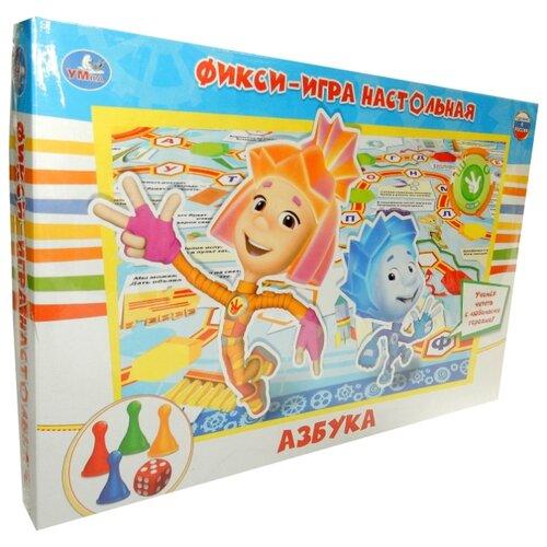 Купить Настольная игра Умка Фикси - Азбука, Настольные игры