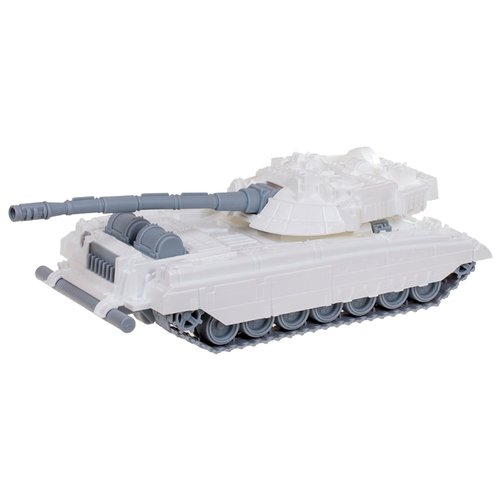 Купить Танк Нордпласт Танк Арктика (292) 42 см белый/серый, Машинки и техника