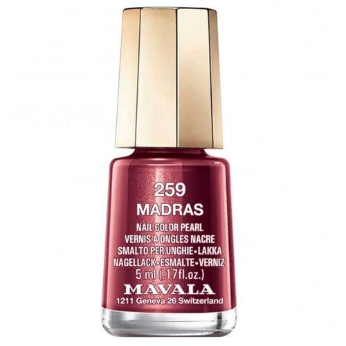 Лак Mavala Nail Color Pearl, 5 мл, оттенок 259 Madras mavala nail color