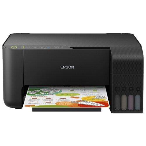 Фото - МФУ Epson L3150, черный мфу epson l4160 черный