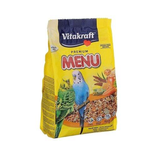 Vitakraft Корм для волнистых попугайчиков Menu 500 гКорма для птиц<br>