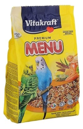 Vitakraft Корм для волнистых попугайчиков Menu