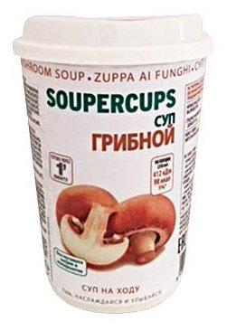 CUPSCOM Сухая смесь для грибного супа быстрого приготовления 25 г
