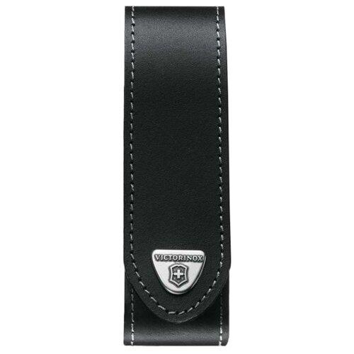 Чехол для ножей Ranger grip 130 мм 3-5 уровней кожаный VICTORINOX черный victorinox набор ножей для стейков swiss classic 6 пр 11 см 6 7232 6 victorinox