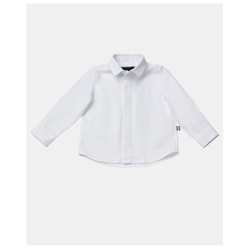 Купить Рубашка Gulliver Baby размер 86, белый, Футболки и рубашки
