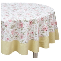 Скатерть Fresca Design English rose с оборкой (so04.1) 160х220 см