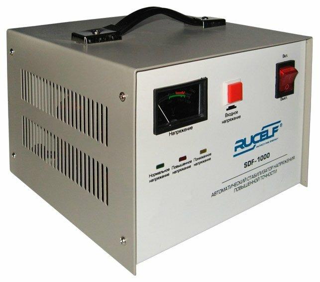 Стабилизатор напряжения однофазный RUCELF SDF-1000 (1 кВт)