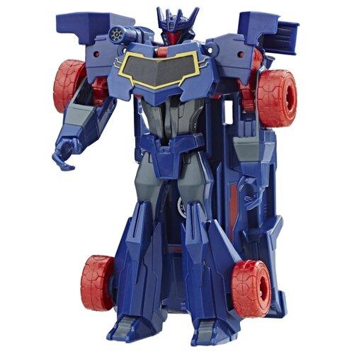 Купить Трансформер Hasbro Transformers Саундвейв. Уан-Стэп (Роботы под прикрытием) C2339, Роботы и трансформеры