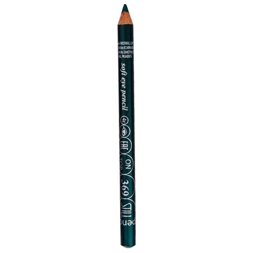STILL Мягкий карандаш для век On Top, оттенок 369 глубокий зеленый с перламутром