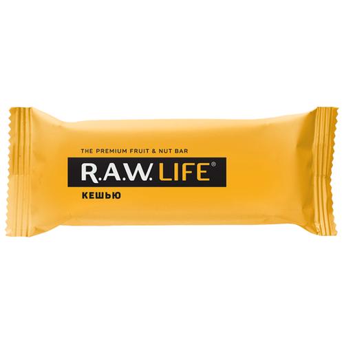 Фруктовый батончик R.A.W. Life без сахара Кешью 47 г фруктовый батончик r a w life без сахара макадамия 47 г