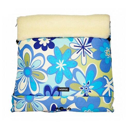 Купить Конверт-мешок Womar Multi Arctic в коляску 83 см 15 цветки, Конверты и спальные мешки
