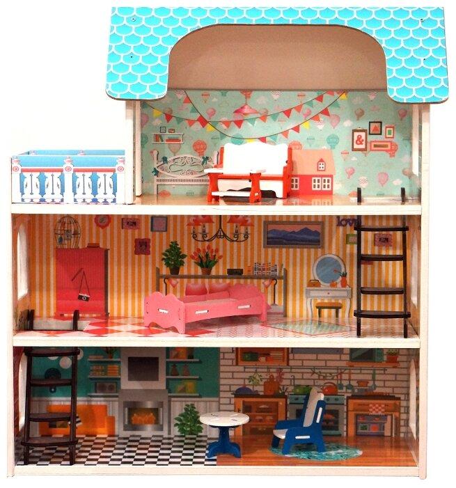 SunnyToy кукольный домик Серафима