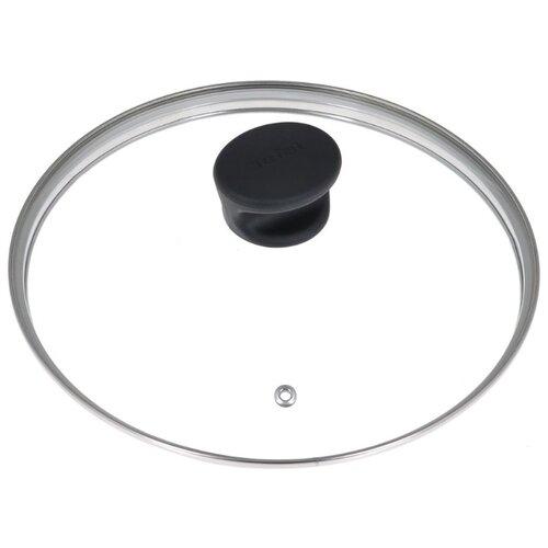 Крышка Tefal стеклянная 04090124 (24 см) прозрачный/черный