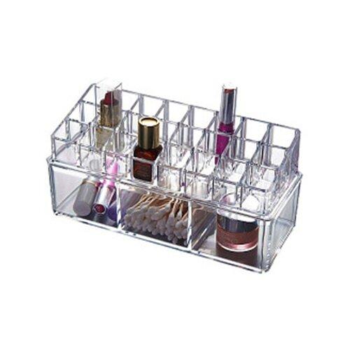 UVOO Органайзер для косметики Makeup Box прозрачный