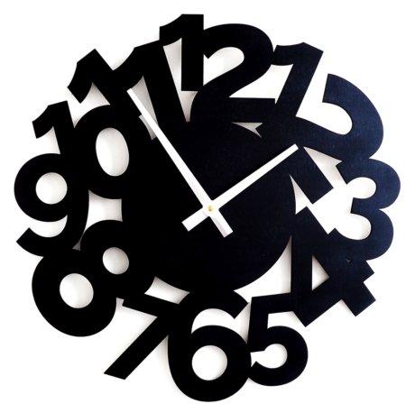 Часы настенные кварцевые Roomton Funk 010/40/BK