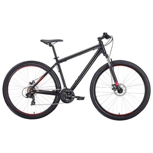 Горный (MTB) велосипед FORWARD Apache 27.5 2.0 Disc (2019) черный матовый 15 (требует финальной сборки) велосипед forward comanche 2 0 2016