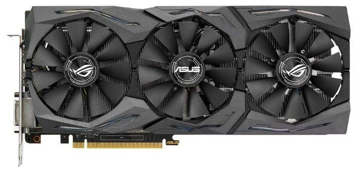 ASUS Видеокарта ASUS GeForce GTX 1060 1518MHz PCI-E 3.0 6144MB 8008MHz 192 bit DVI 2xHDMI HDCP Strix Advanced Gaming