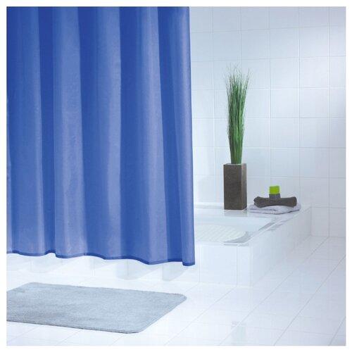 Штора для ванной RIDDER Standard 180x200 синий/голубойШторы и карнизы<br>
