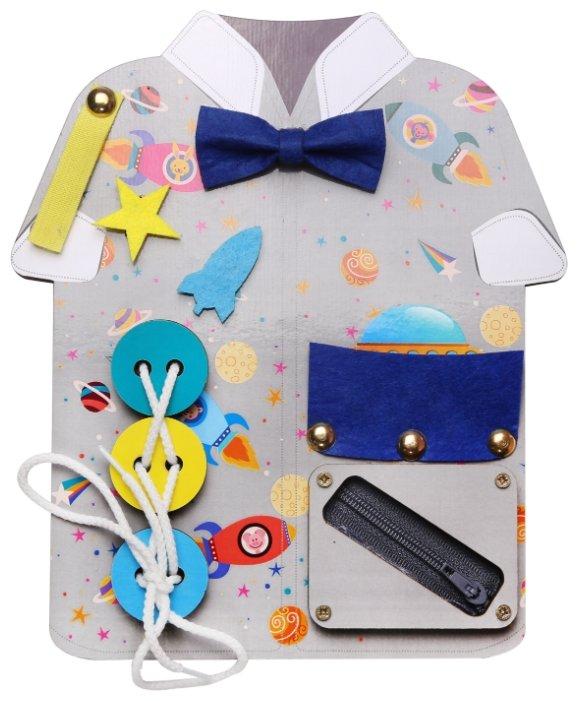 Бизиборд IQ Format Рубашка для мальчиков
