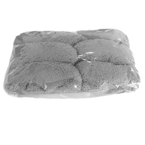 Аксессуар HOBOT запасные чистящие салфетки-обтяжки из микрофибры для 188/198 серые (12 штук)