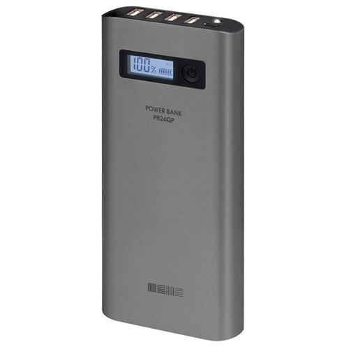 Купить Аккумулятор INTERSTEP PB24QP серый