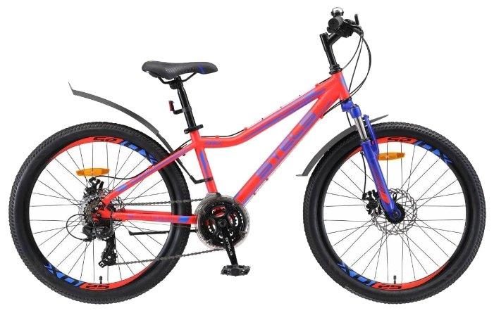 Подростковый горный (MTB) велосипед STELS Navigator 410 MD 24 21-sp V010 (2019)
