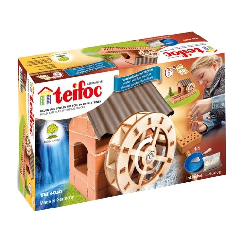 Купить Конструктор TEIFOC Junior TEI4030 Водяная мельница, Конструкторы