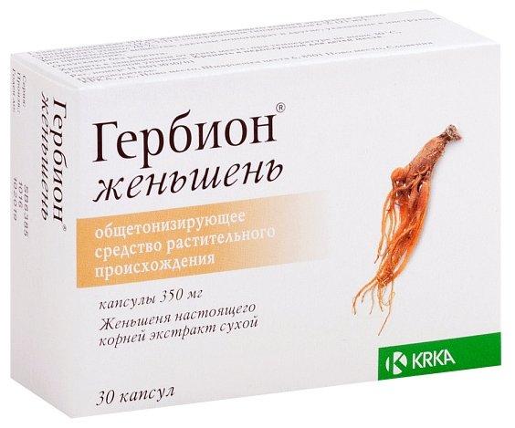 Гербион женьшень капс. 350 мг №30