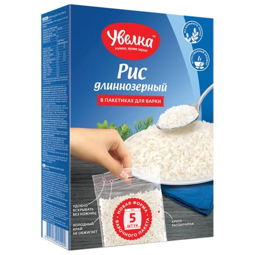 Рис Увелка длиннозерный шлифованный 400 гРис<br>