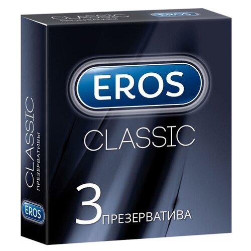 Презервативы Eros Classic (3 шт.) cd eros ramazzotti eros 30